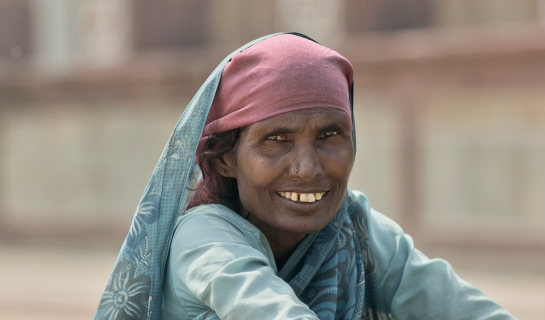 A Portrait of India by Afiq Omar