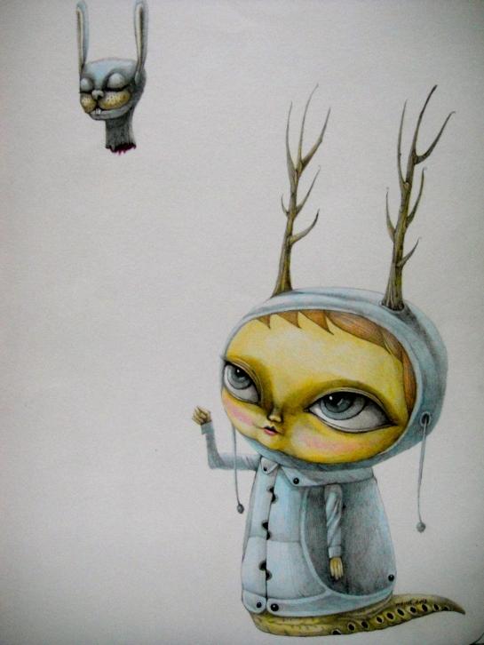 Khairul Azmir Shoib, Nocturna 2, 2013, watercolour and pencil on paper, 27 x 38 cm