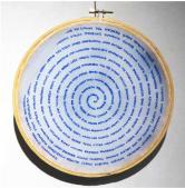 Infinitessimal, 2015, Rice paper, pigment ink & mixed media, 21 x 21cm