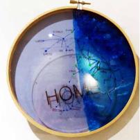 Home, 2015, Mixed media, 21 x 21cm