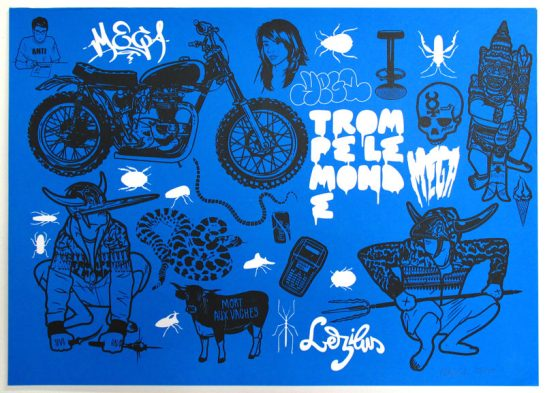 Mega-screen-print-blue-black-jungle