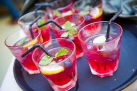 Fruit-infused Mini Cocktails